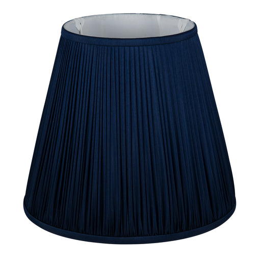 Dark Blue Mushroom Pleat Shade