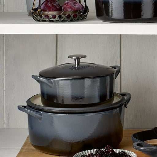 Halo Cast Iron 28cm Oval Casserole