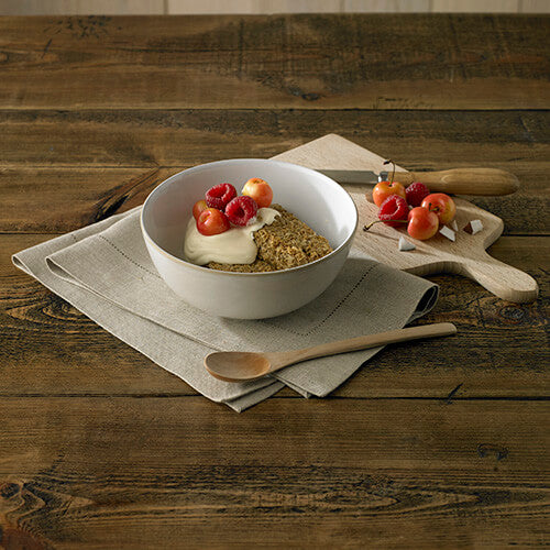 Natural Canvas Cereal Bowl