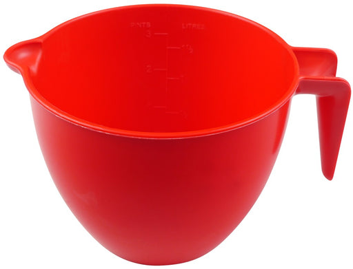 Red Microwave Measuring Jug