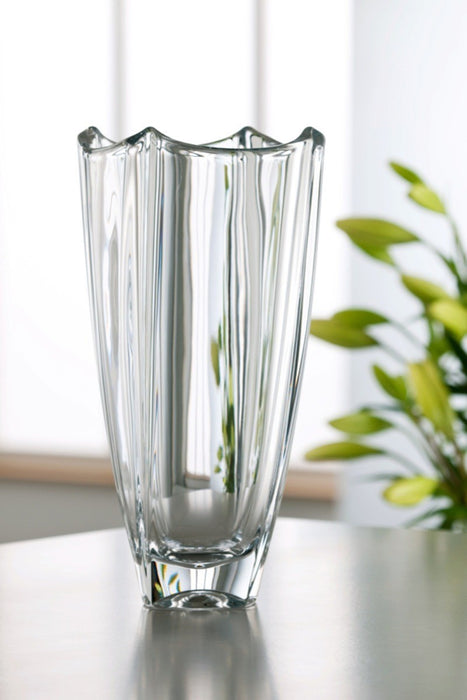 Galway Crystal Dune Square Vase