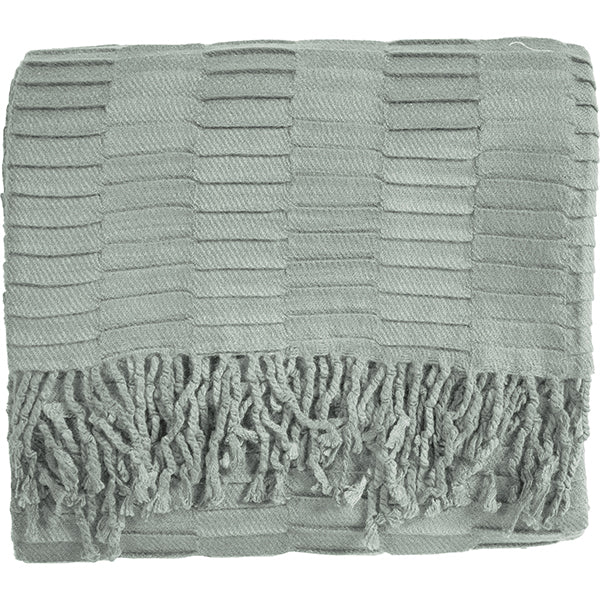 Linear Pleat Throw