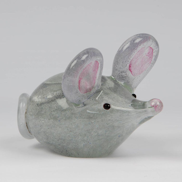 Glass Ornament - Mouse