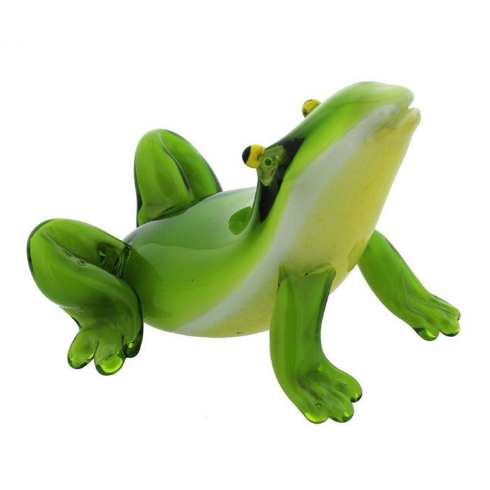 Glass Ornament - Frog