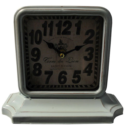 Green Square Vintage Clock