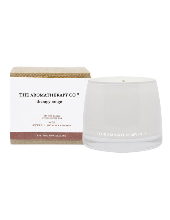 Sweet Lime and Mandarin Aromatherapy Candle