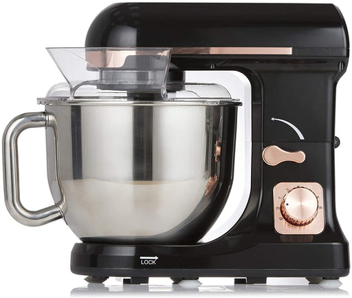 Tower Rose Gold and Black Stand Mixer