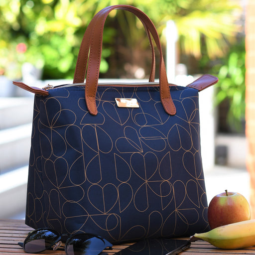 Navy Insulated Tote Bags