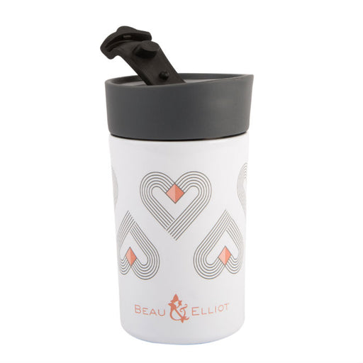 White Insulated Travel Mug