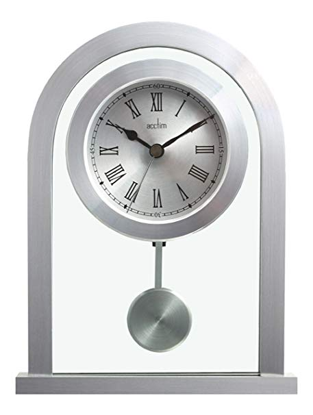 Bathgate Silver Mantle Clock
