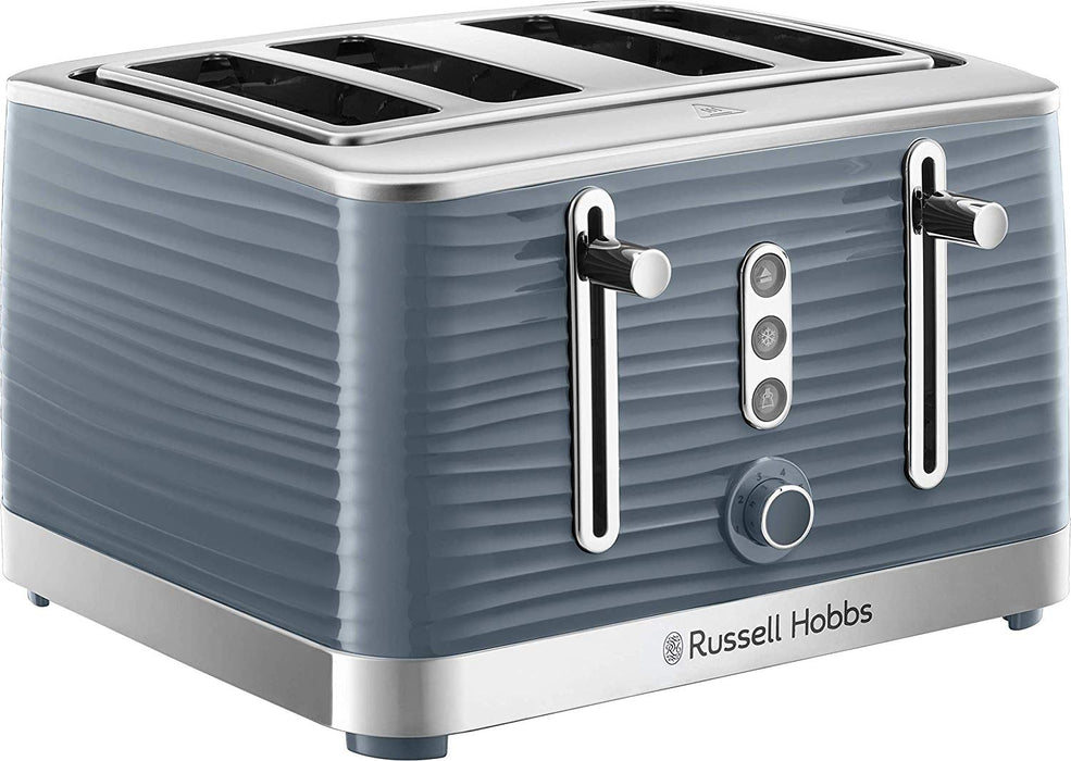 Grey Inspire 4 Slice Toaster