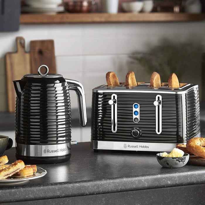 Inspire 4 Slice Toaster - Black