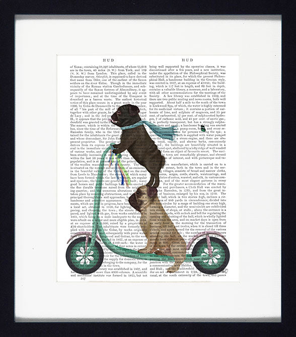 Dogs On Scooters II