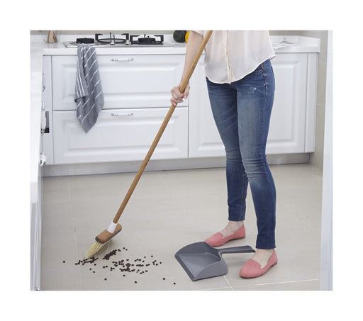 Clean Sweep Broom Gray/White