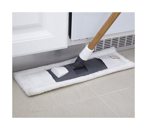 Mighty Mop 2 in 1 Wet Dry Microfiber Mop Gray/White