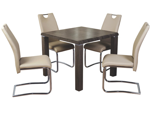 Encore Dining Set with Claren Khaki Chairs
