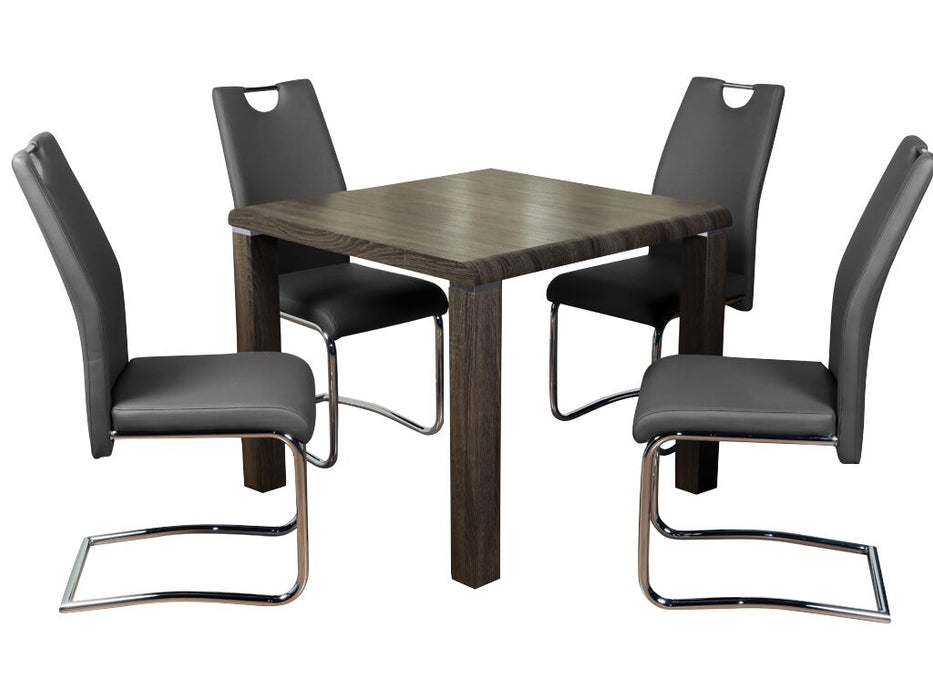Encore Dining Set with Claren Grey Chairs