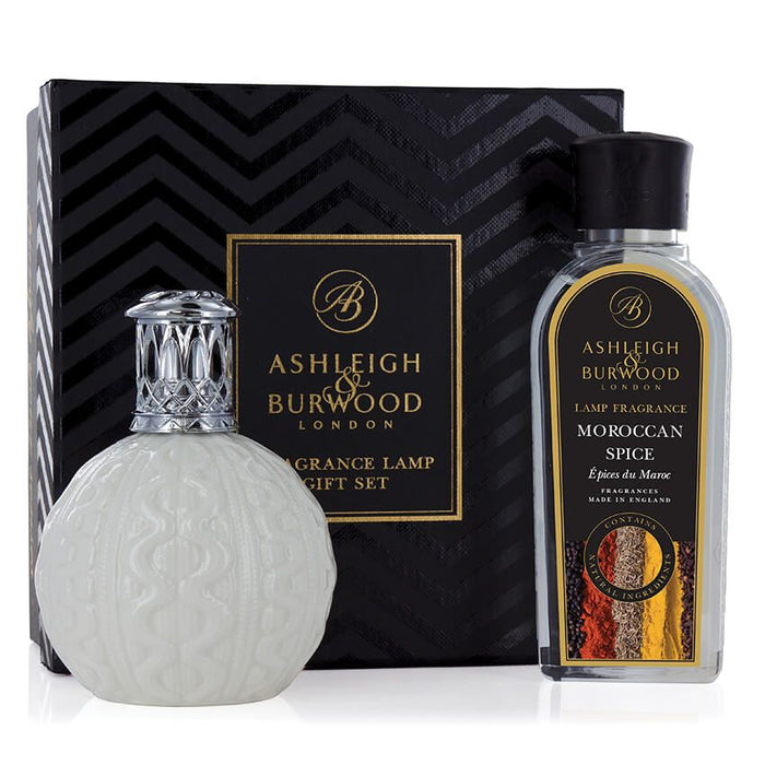 Fragrance Lamp Gift Set - Cosy Knit & Moroccan Spice