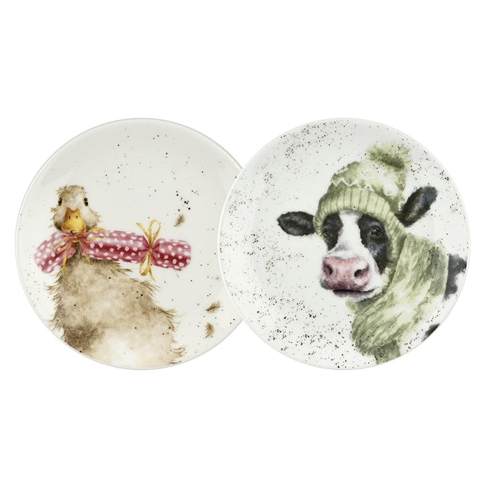 Cow and Duck Coupe Plates