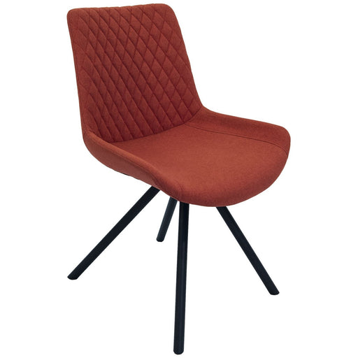 Sigma Dining Chair Burnt Orange