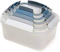 Nest Lock 5-Piece Compact Storage Container Set