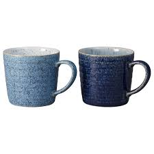 Studio Blue Ridged Mug