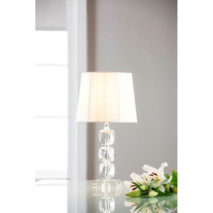 Facet Small Lamp and Shade
