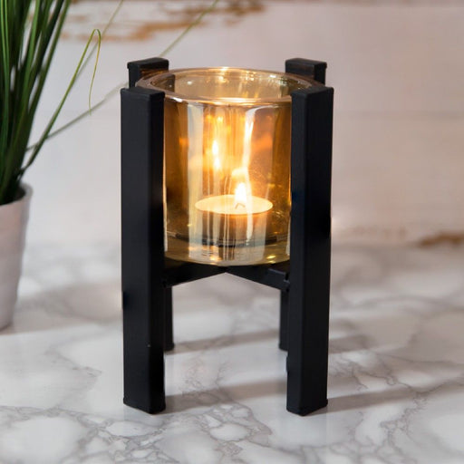 Hestia Metal Single Tealight Holder