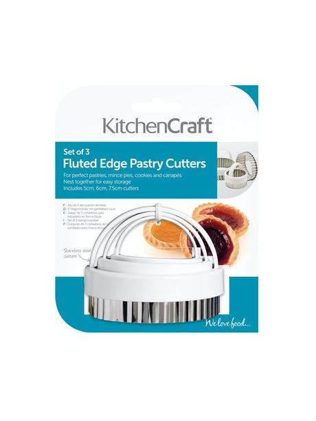 Flutted Edge Pastry Cutters