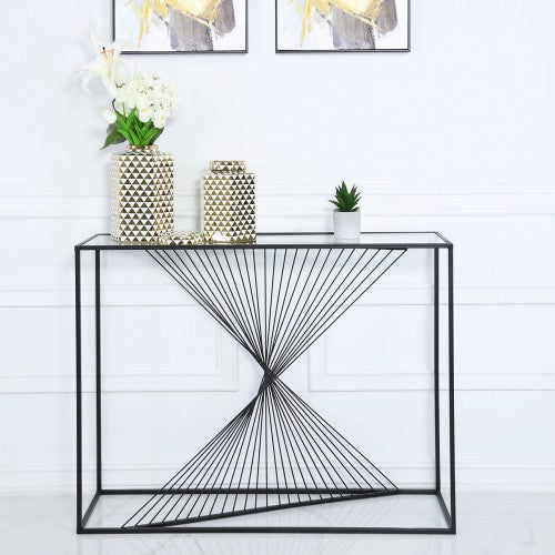 Console Table Black Luna