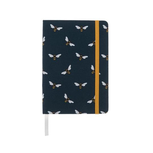 Bees Small Fabric Notebook