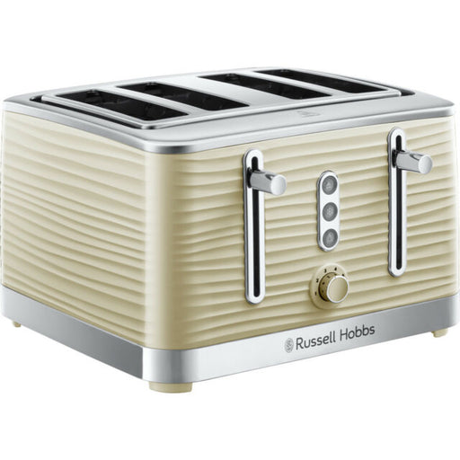 Inspire 4 Slice Toaster - Cream