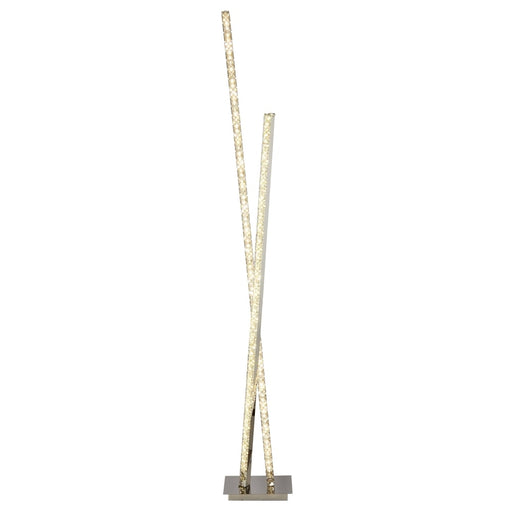 2 Light Led Column Floor Lamp