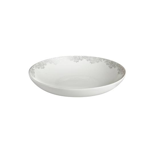 Pasta Bowl Filigree Silver
