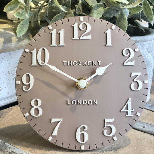 Arabic Clay Mantel Clock