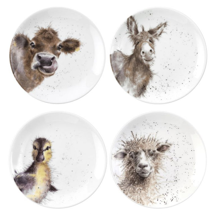 Wrendale Set Of 4 Small Plates