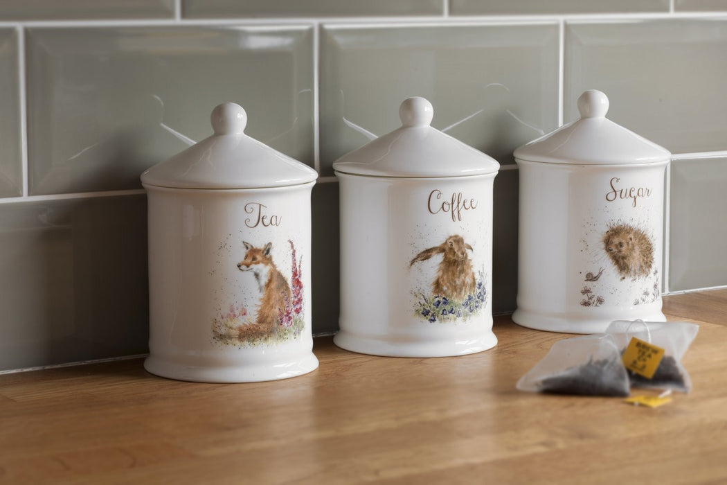 Wrendale Tea Canister Fox