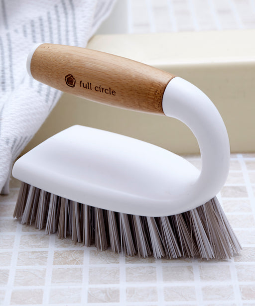 Tough Stuff All-Purpose Scrub Brush White