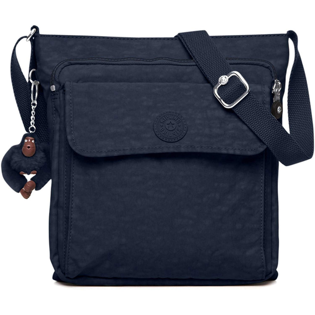 Kipling Women's Machida Black Tonal Crossbody Bag - crazyshoedeals.com