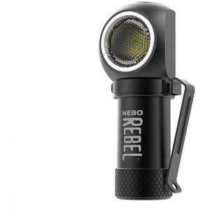 NEBO REBEL Tactical Head Lamp: Small enough to fit in the palm of your hand, this powerful Rechargeable Head Light rebels against its size with its impressive 600 lumen output and 4 Working Modes - crazyshoedeals.com