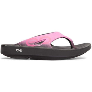 OOFOS - Unisex Ooriginal Sport - Post Exercise Active Sport Recovery Thong Sandal (7 Women/5 Men, Pink)