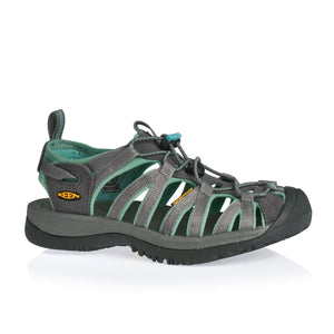KEEN Womens Whisper Sandals Dark Shadow/Ceramic 7.5 - crazyshoedeals.com