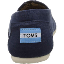 Load image into Gallery viewer, TOMS Womens Classic Canvas Slip-On, Navy, Size 8.5 - crazyshoedeals.com