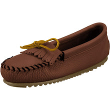 Load image into Gallery viewer, Minnetonka Women's Deerskin Soft-T Moccasin