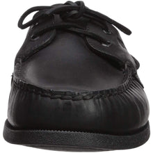 Load image into Gallery viewer, Sperry Mens A/O 2-Eye Boat Shoe, Black, 7 - crazyshoedeals.com