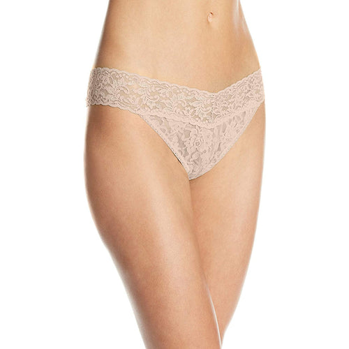 Hanky Panky Women's Maternity Signature Lace Original Rise Thong - crazyshoedeals.com
