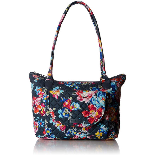 Vera Bradley Women's Signature Cotton Carson East West Tote Totes - crazyshoedeals.com