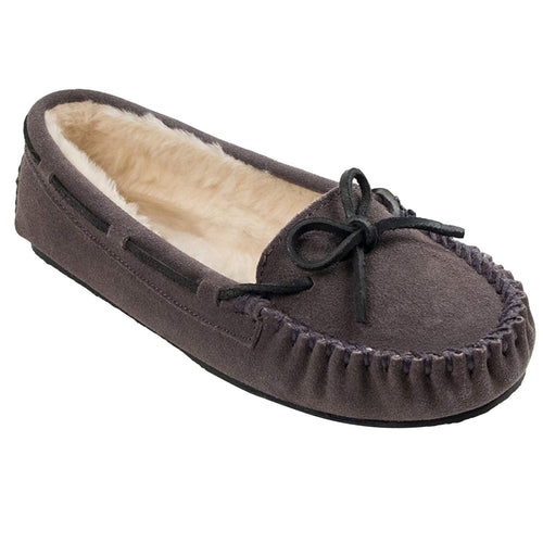 Minnetonka Women's Cally Faux Fur Slipper - crazyshoedeals.com