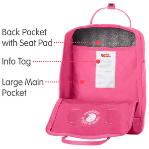 Fjallraven - Re-Kanken Recycled and Recyclable Kanken Backpack for Everyday, Ox Red - crazyshoedeals.com