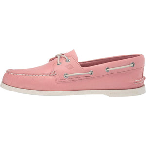 Sperry Women's Bluefish 2-Eye Boat Shoe Light Grey - crazyshoedeals.com